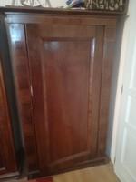Antik (biedermeier, klasszicista) intarziás szekrény