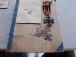 WW2,Vas kereszt II.osztály német.,,eredeti zacsko,eredeti  diszdoboz