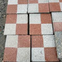 Pepita mintás kőörleményes cementlap