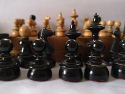 1920-30 k. bécsi kávéházi sakk készlet
