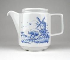 1B371 Jelzett JLMENAU porcelán kiöntő 10 cm