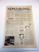 1989 november 18  /  NÉPSZABADSÁG  /  Meglepetés születésnapra :-) Ssz.:  17814