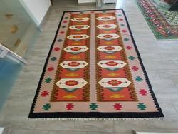 Kaukázusi minta 170x250 torontáli kilim szőttes szőnyeg  ingyen posta kód: MM_325