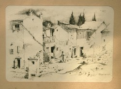 Z. Soós István - Fiesolei házacskák