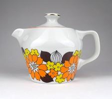 1C278 Retro kotyogós kávéfőző Hollóházi porcelán fej