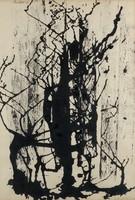 Vinkler László - 60 x 41 cm tus, papír keretezve
