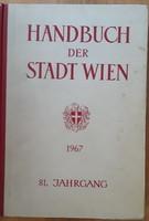 HANDBUCH DER STADT WIEN  1967