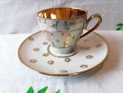 PM porcelán kávés csésze + alj