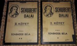Schubert Dalai két kötetes példány.