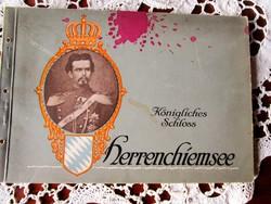 II. LAJOS BAJOR TÜNDÉR KIRÁLY SZISZI UNOKATESTVÉR Herrenchiemsee PALOTA BELSŐ ENTERIŐR CCa. 1900