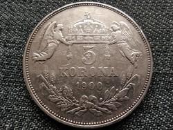Ferenc József (1848-1916) .900 ezüst 5 Korona 1900 KB (id39668)