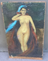 Old small nude painting