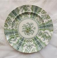 Fajansz lapos tányér