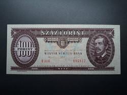 100 Forint 1992 - Régi, retró papír száz Ft-os papírpénz - Piros százas bankjegy eladó