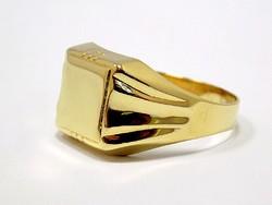 Arany pecsétgyűrű (ZAL-Au93342)