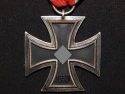 Német 2. VH Vaskereszt Iron Cross / Eisernes Kreuz EK 2 Eisernes Kreuz Walter & Henlein
