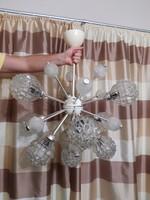 Retro mid century design szputnyik csillár,  sputnik chandelier