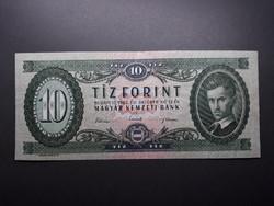 10 Ft 1962 fordított hátlapi alapnyomat (01) forint papírpénz - Régi tizes bankjegy eladó
