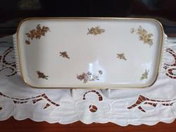 Suisse Langenthal csontszínű porcelán tálca 1940-ből