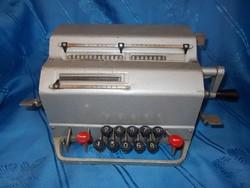 Régi asztali számológép