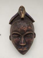 Afrikai antik gyógyító maszk Ogoni népcsoport Nigéria  zk15