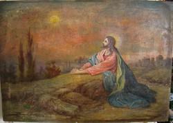 KÁRPÁTHY JENŐ JÉZUS A GETSZEMÁNI KERTBEN