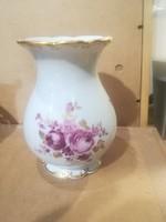 Német porcelán váza, 16 cm magasságú, hibátlan darab.