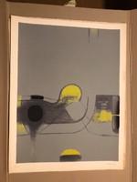 """Kolos-Vary (Sigismund Kolos-Vary 1899-1983) """"Szita"""" Ady mappából kiadva 1977 Párizs 39/100db."""