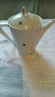Hollóházi pettyes kávés kanna