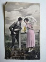 Antik nosztalgikus  képeslapok- feliratos-  vintage