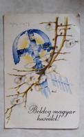 Régi húsvéti képeslap levelezőlap 1942
