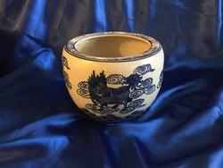 Sárkányos porcelán kaspó