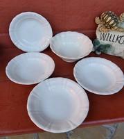 Ritka Gránit mélytányér,  tányérok + tál , paraszti dekoráció