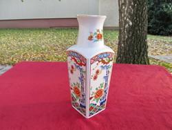 ░ Japán kézműves porcelán váza (Miyako, 26cm) ░
