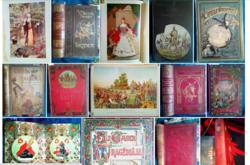Antik, díszes könyvgyűjtemény,108 db, egyben, kedvező áron eladó!