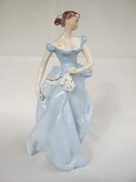 Royal dux porcelain girl large size 24 cm