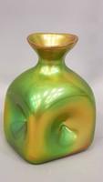 Zsolnay eozin mázas Fürtös György tervezte modern váz