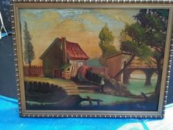 Rónay : A horgász festmény!