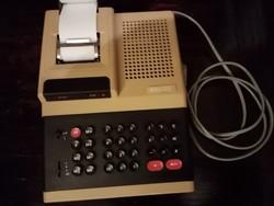 Retro Elka 55 számológép