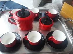 Kora retro kispesti gránit kávézó szet - extrém ritka retro design 1940-1949 között!