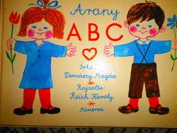Arany ABC -Donászy Magda--- Reich Károly rajzaival