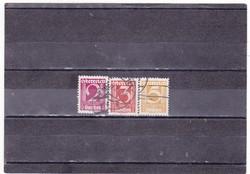 Ausztria forgalmi bélyegek 1925