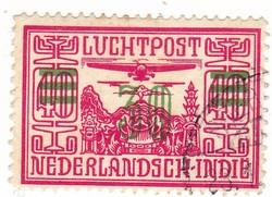 Holland Kelet-India légiposta bélyeg 1932