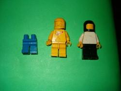 2 és fél darab LEGO űrhajós retró játék kb 1987 ből trafik áru gyerek KIÁRUSÍTÁS 1 forintról