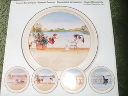 Villeroy Boch   Négy évszak  porcelán tányér sorozat-  TÉL