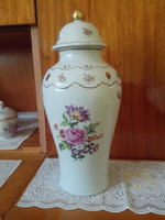 Wallendorf porcelán váza / urna