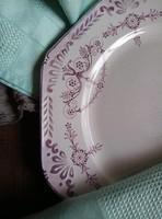 Villeroy&Boch szögletes lapos tányér ritka lila színben