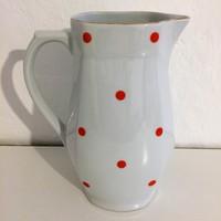 Piros pöttyös, Alföldi porcelán kancsó
