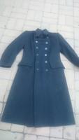 40es 50es évek MÁV posztó kabát beszkárt villamos vasút vasutas gőzmozdony Rákosi tiszti nyilas