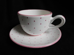 Gmundeni (Gmundner Keramik) pöttyös teás szett